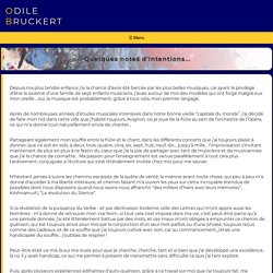 Présentation des lettres-sons - Odile Bruckert