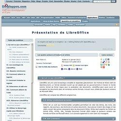 Présentation de LibreOffice