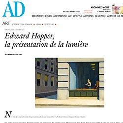 Edward Hopper, la présentation de la lumière