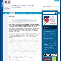Présentation – Blog du Prix Jean Renoir des lycéens- Éduscol