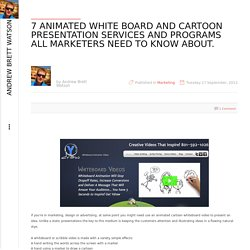 7 Animated white board