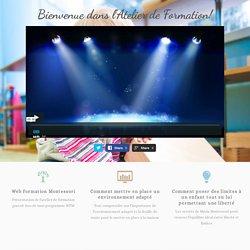 Présentation de l'Atelier — Web Formation Montessori