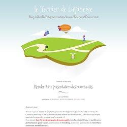 Blender 2.70: présentation des nouveautés. - le Terrier de Lapineige