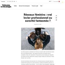 Réseaux féminins : présentation et objectifs