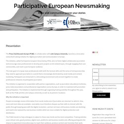 Participative European Newsmaking