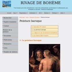 Présentation de la peinture baroque au 17e siècle