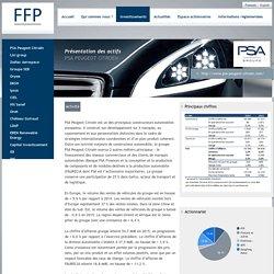 Présentation de PSA Peugeot Citroën