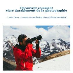 presentation livre vivre de la photographie