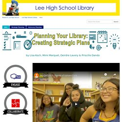 Planning for Your Library - Lee High School Library at Robert E. Lee High School (FCPS)