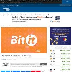 Présentation de la plateforme d'échange Bitit