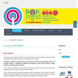 Présentation - Pop Mind 2014