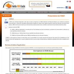 Présentation de l'OBD ainsi que de la prise OBD2 - Outis OBD Facile