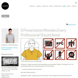 6 Presentation Mistakes Every Professional Should Avoid