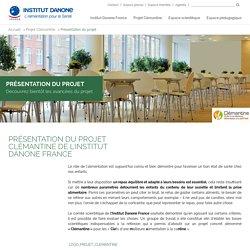 Présentation du projet - Institut Danone