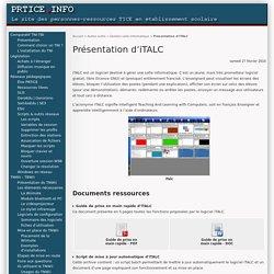 Gérer les écrans en salle info - Présentation d'iTALC