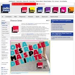 Présentation de la radio France Inter