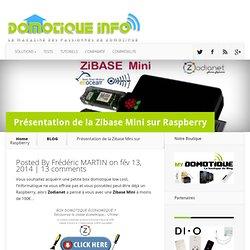 Présentation de la Zibase Mini sur Raspberry