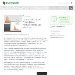 Evernote, le nouveau mode Présentation