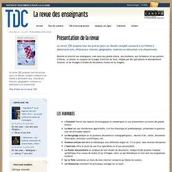 TDC La revue des enseignants