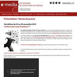 Présentation / Revue de presse