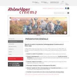 Présentation de Rhône-Alpes Cinéma