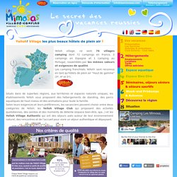 Camping les Mimosas 4* - Narbonne, Aude - Languedoc-Roussillon