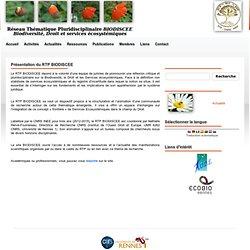 Présentation du RTP BIODISCEE - RTP BIODISCEE