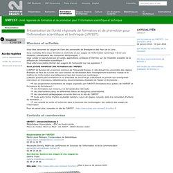 URFIST - Unité Régionale de Formation à l'Information Scientifique et Technique