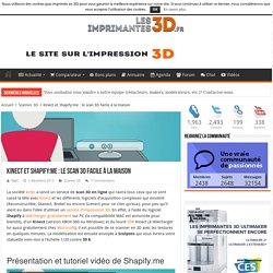 Présentation et test de Shapifiy.me, le scan 3D en ligne avec Kinect