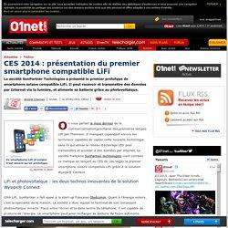 CES 2014 : présentation du premier smartphone compatible LiFi