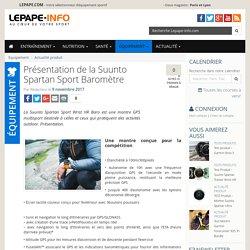 Suunto Spartan Sport Baromètre