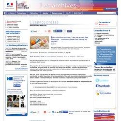 Présentation presse - Les vacances des Français : comment lever les freins au départ?
