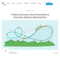 7 Ways to Take Your Presentation Structure to the Next Level