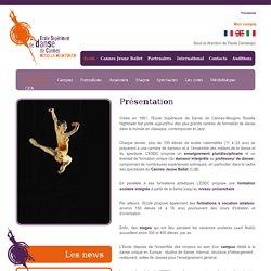 Ecole Supérieure de Danse de Cannes Rosella Hightower