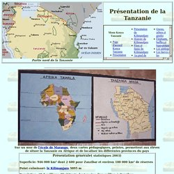 Présentation de la Tanzanie