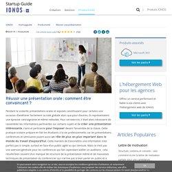 Réussir une présentation : techniques et conseils - IONOS