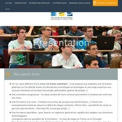 Présentation - Réseaux des universités de technologies - UTBM - UTC - UTT