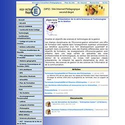 Présentation de la série Sciences et Technologies de la Gestion