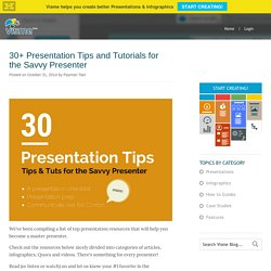 30+ Presentation Tips and Tutorials for the Savvy Presenter