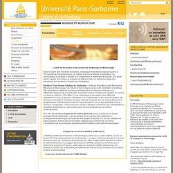 Présentation - Université Paris-Sorbonne
