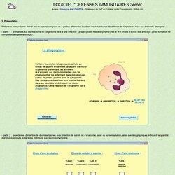 Présentation et utilisation du logiciel Immuno3e