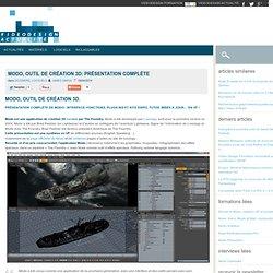 Modo, outil de création 3D: présentation complète