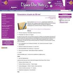 Présentation virtuelle du CDI réel - Espace Doc Web