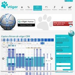 présentation vtiger CRM en images, animation vtiger CRM