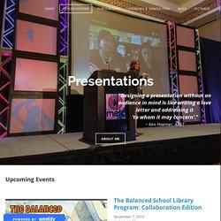 Nikki Roberson's Presentations (Dr. V)