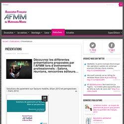 Association Française du Multimedia Mobile - AFMM