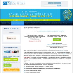 Online Learning Consortium, Inc