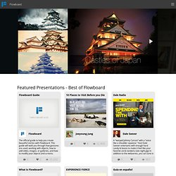 Best Presentations, Interactive Stories, Portfolios, and More - Flowboard Catalog