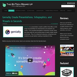Genially: Create Presentations, Infographics, and Visuals in Seconds