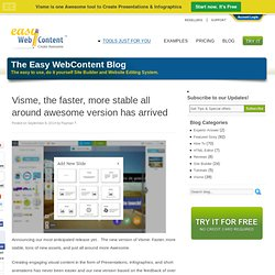 Visme - Create online presentations, animations infographics in your browser